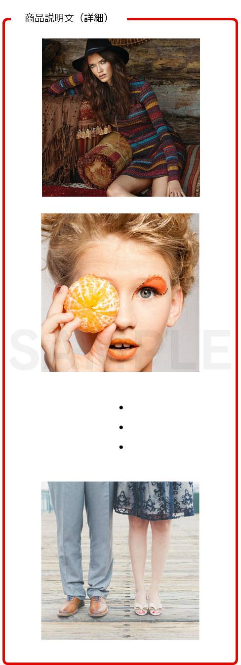 画像を沢山用いるパターン1